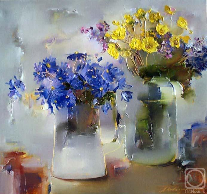 Чистые и радостные краски — живые натюрморты Лины Коваленко