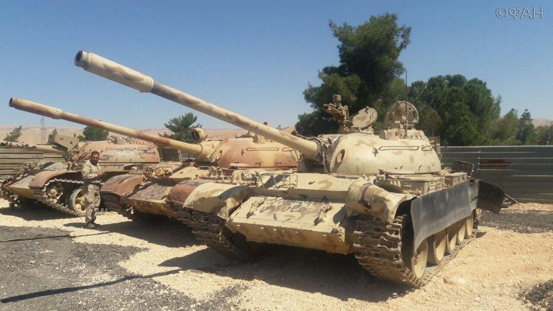 Сирия: боевики за сутки сдал…