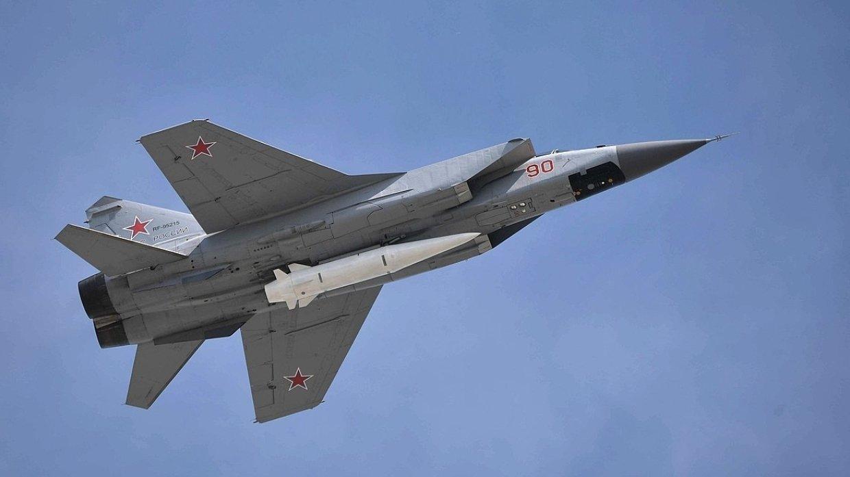 Истребитель МиГ-31 рухнул в …