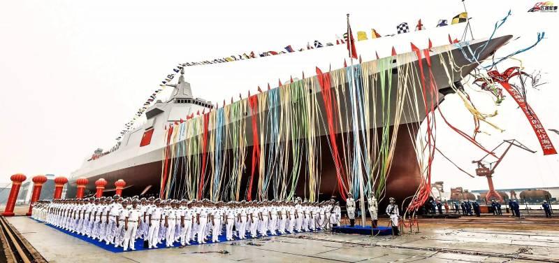 Проект 055. Китайский эсминец размером с крейсер