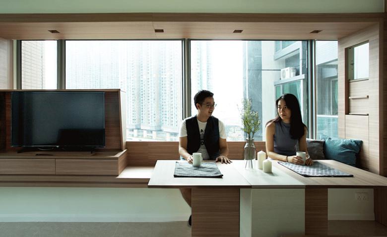 Квартира-трансформер 46 квадратных метров для молодой пары