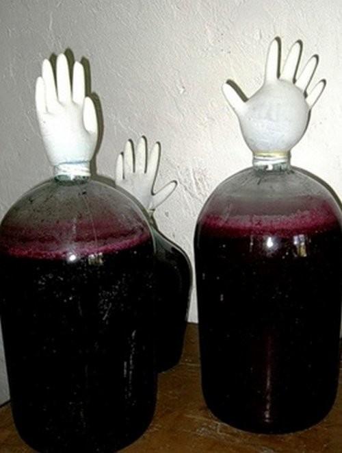 Виноградное вино в домашних условиях