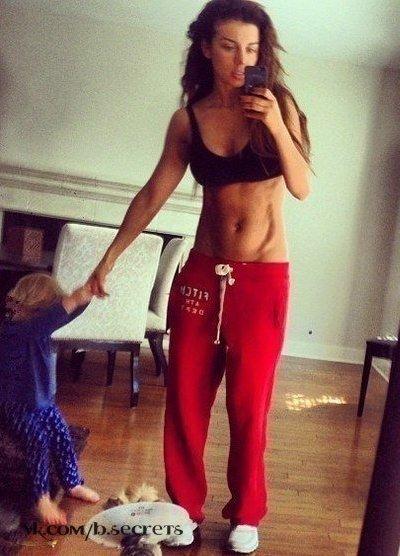 Плоский живот: эффективные упражнения для мам!