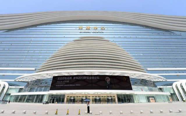 Самый большой в мире торговый центр открылся в Китае