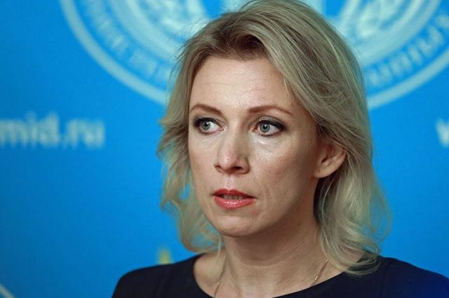 Захарова сравнила Порошенко с коммивояжером