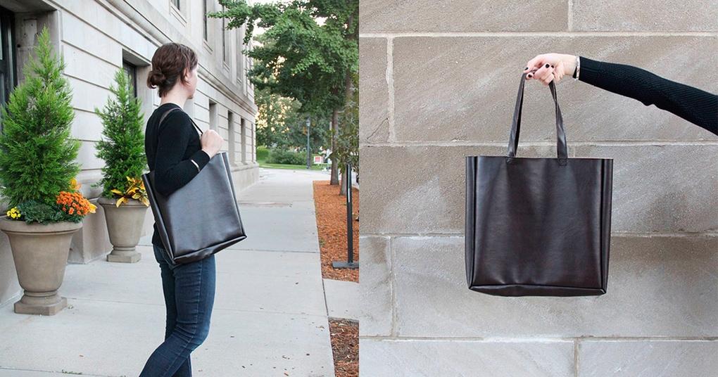 Идеальная сумка на повседневку своими руками