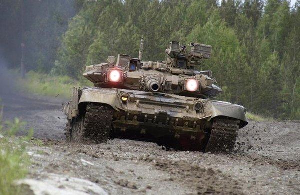 Танки РФ творят чудеса: Т-90…