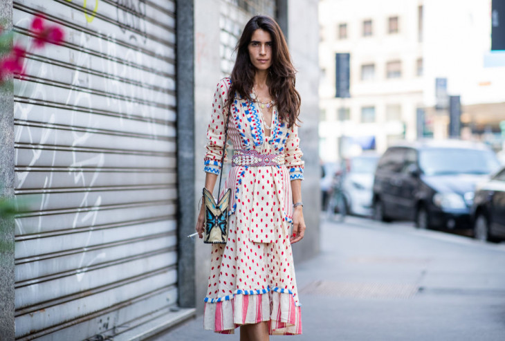 Платье с длинными рукавами с…
