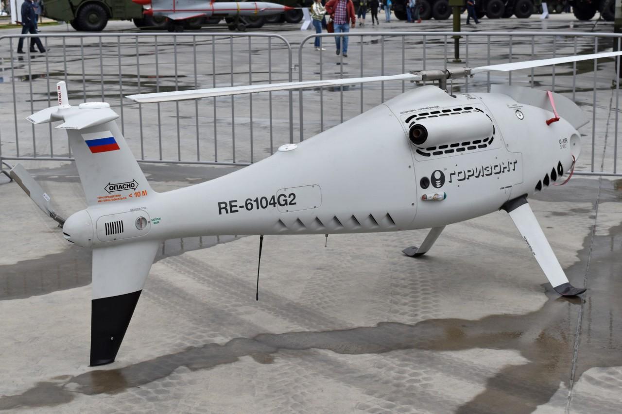 Беспилотные вертолеты «Горизонт Эйр S-100» используются в Арзамасе-16
