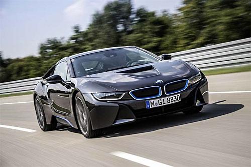 Производство BMW i8 начнется в апреле 2014 года