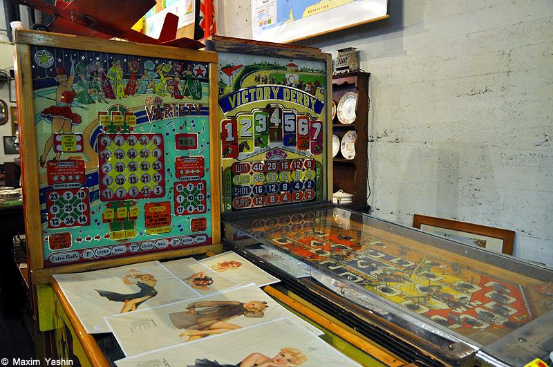 Antiques shops 18 Антикварные магазины в США
