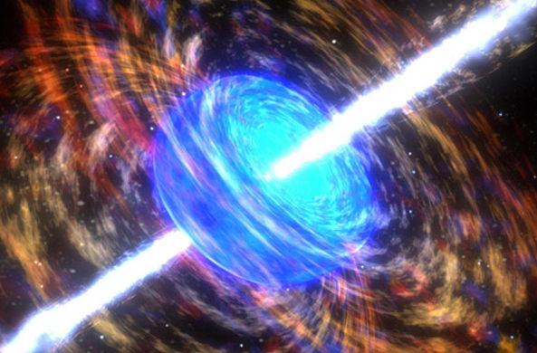 Таинственные гамма-лучи поворачивают время вспять