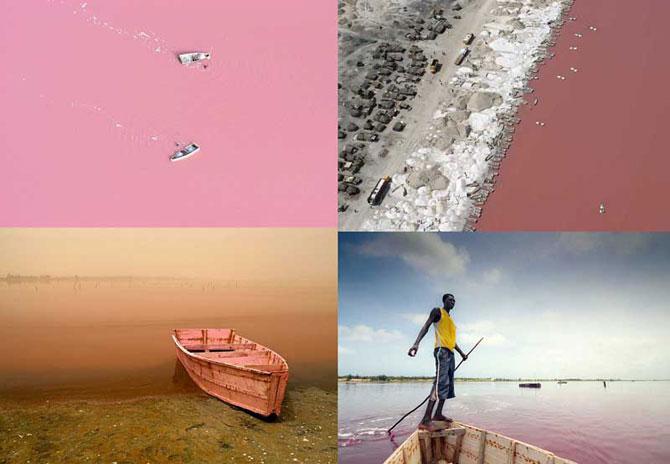 Озера необычного цвета