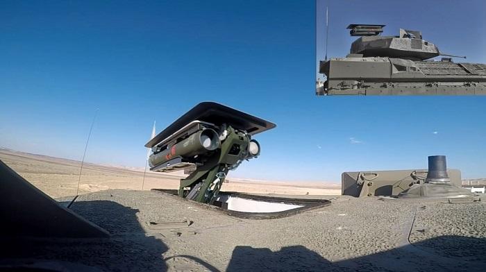 Необитаемый боевой модуль для израильских бронетранспортеров Namer и Eitan