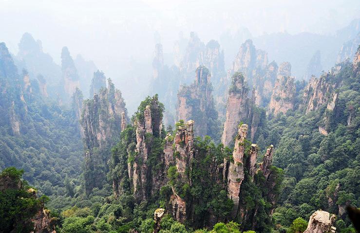 Горы Улинъюань (Китай)
