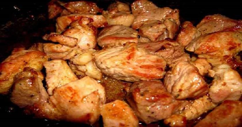 Мясо по-грузински в духовке. Вкуснее этого мяса вы в жизни ничего не пробовали