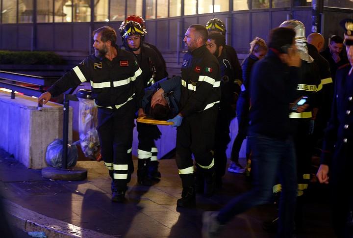 Число пострадавших при обрушении эскалатора в Риме увеличилось до 30 человек