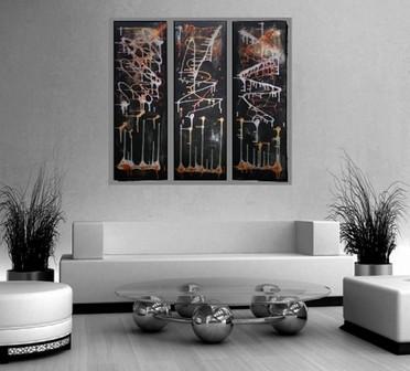 Картины в стиле хай тек