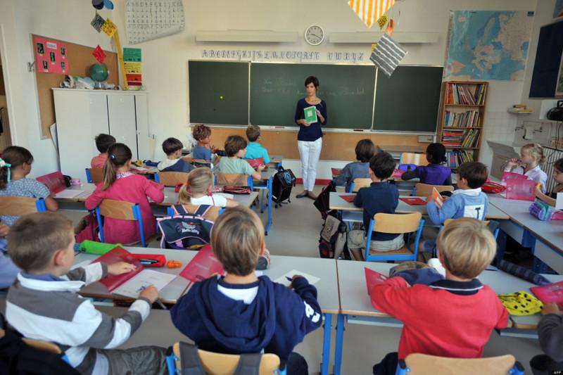 Школьное образование во Франции Учёба, интересное, мир, образование, факты