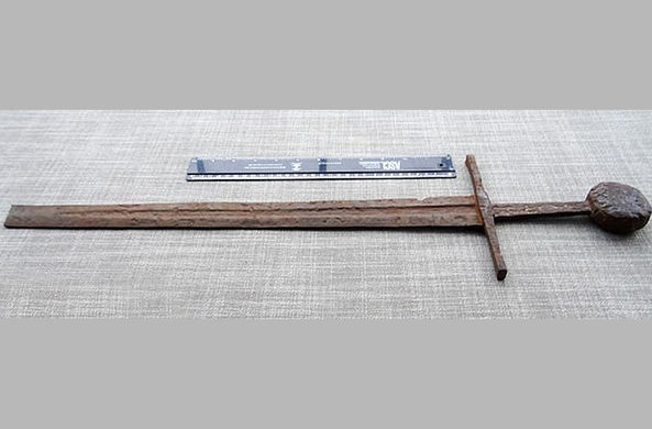Загадочный британский меч оказался тамплиерским