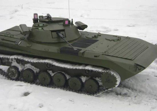 Первое фото модернизированной БМП-2М российской армии