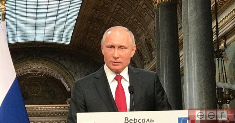 Заявление Путина во Франции вызвало истерику на Украине