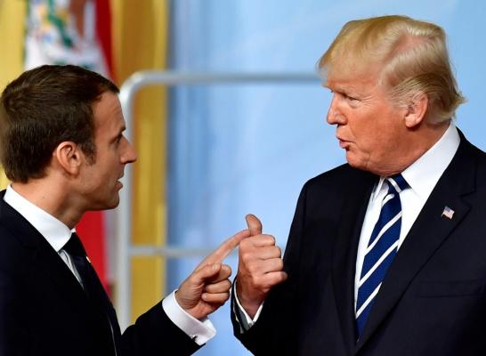 Трамп высказался про идею Макрона осоздании общеевропейской армии