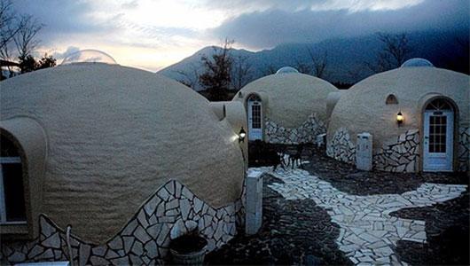 В Японии строят дома из… пенопласта!