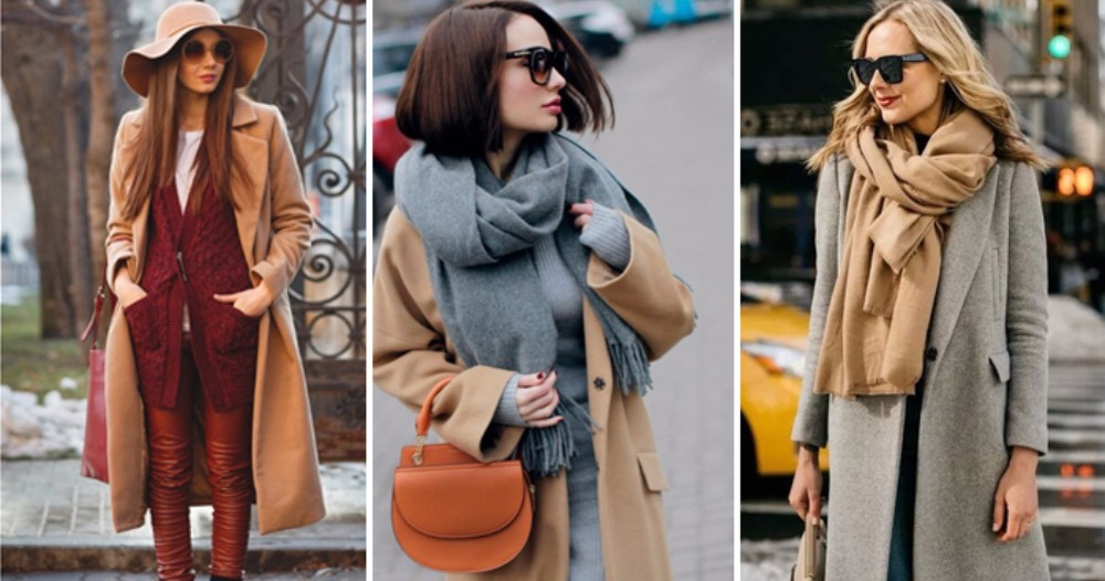 Как носить осенью роскошный и элегантный цвет Camel