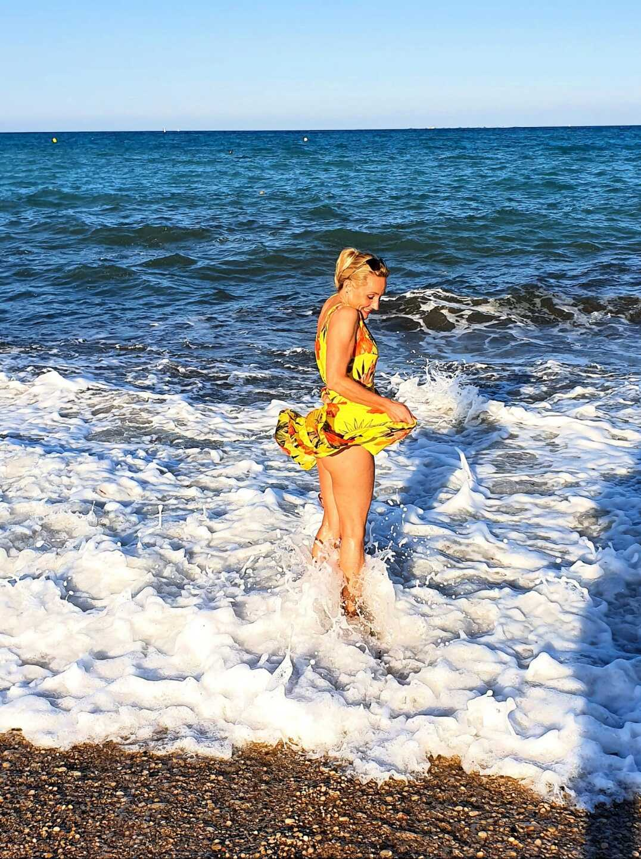 Месяц после карантина. Пляж Альбир. Испания