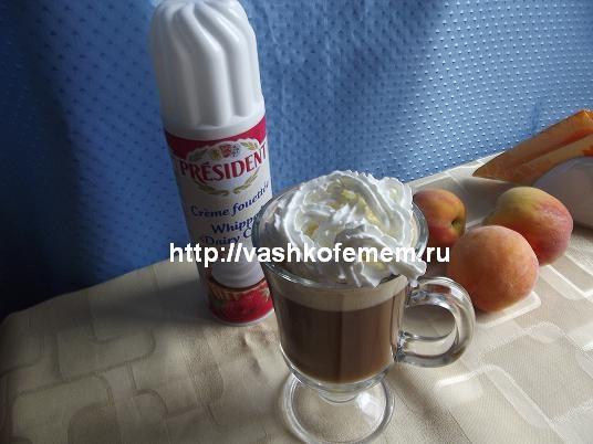 Кофейный коктейль - холодный моккочино