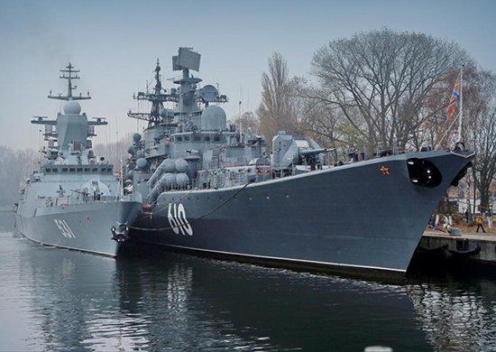 Корабли Балтийского флота проведут учебные стрельбы с применением антиторпеды