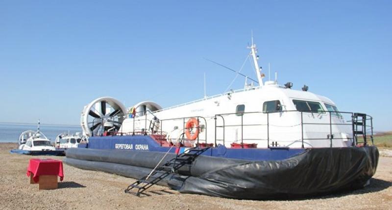 """Заводом """"Море"""" сдан первый пограничный катер на воздушной подушке проекта А25ПС"""