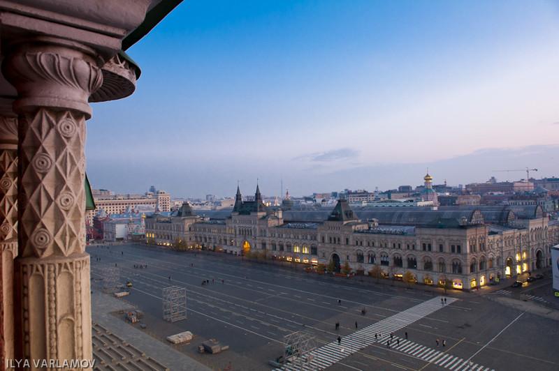 Прогулка по Кремлевской стене