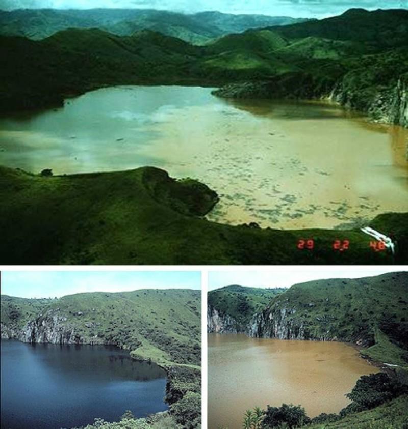Озеро Ньос (Камерун) наша планета, озера, самые опасные