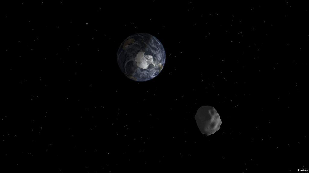 Астероид размером с автомобиль замечен за несколько часов до столкновения с Землей
