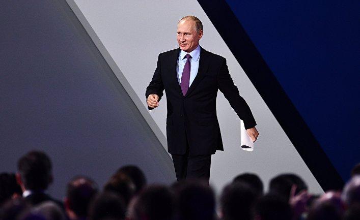ИноСМИ: США начинают понимать, что Путин выигрывает новую холодную войну