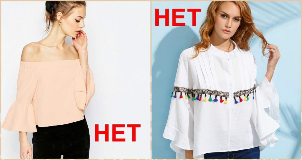 6 стильных блузок, которые не идут никому: долой прозрачные ткани!?