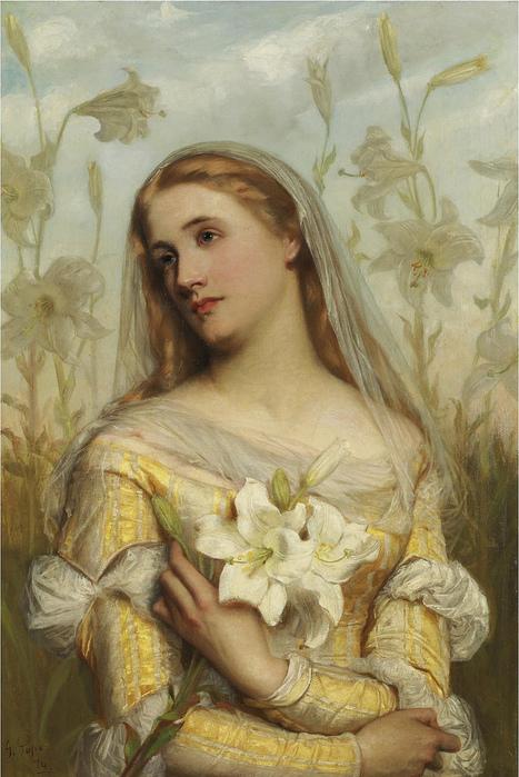 Легенды о цветах: Лилии (467x699, 189Kb)