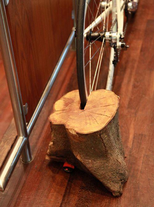 Парковка велосипеда