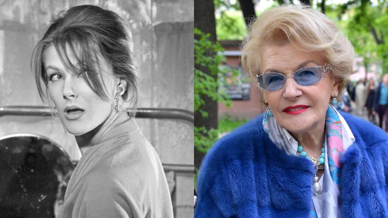 Светлана Дружина. СССР, актрисы, кино.