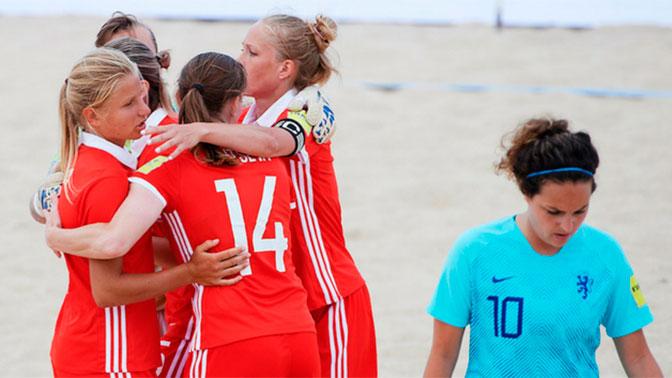 Женская сборная России по пляжному футболу впервые в истории завоевала Кубок Европы