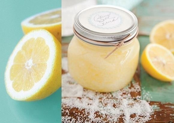 Лимонный скраб для тела.