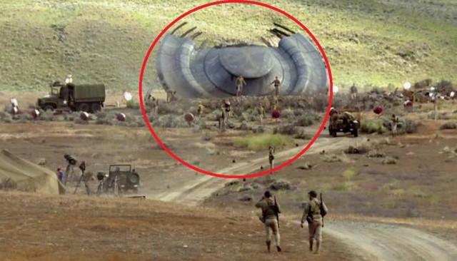 Десятки сбитых НЛО хранятся на полигоне Капустин Яр