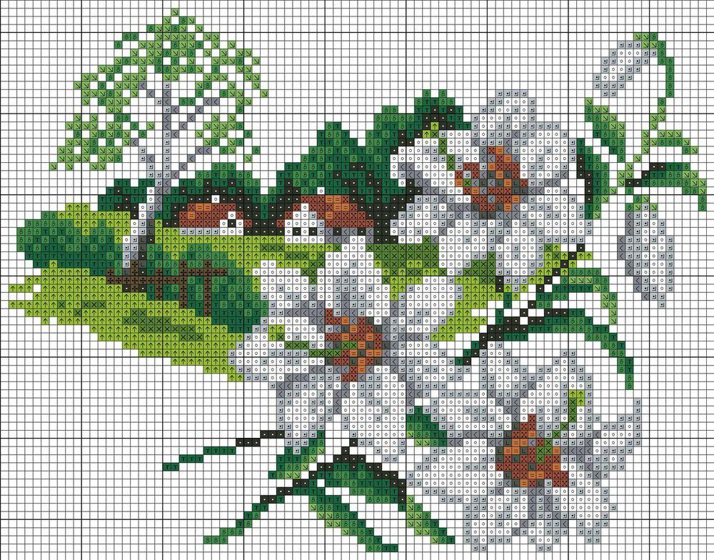 Вышивки крестом маленькие схемы красивые