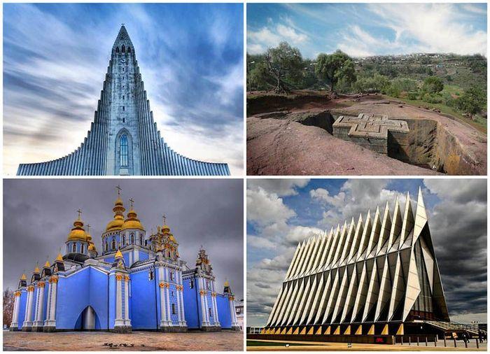 Уникальные храмы мира (28 фото)