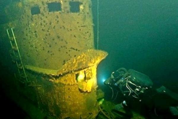 «Подводный Чернобыль» у бере…