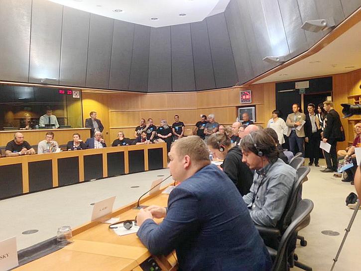 Политик из Одессы выступил с сенсационной речью в Европарламенте