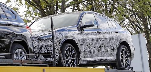 Новый кроссовер BMW X4 впервые заснят фотошпионами