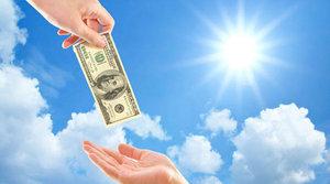 Народные приметы : деньги в долг